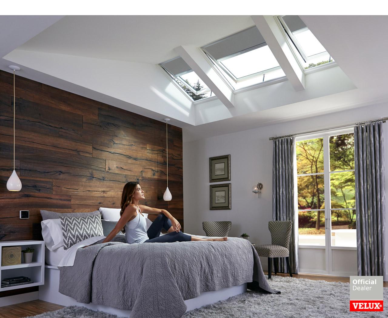 Zonwering Slaapkamer 15 : Vereiken zonwering uw velux raamdecoratie dealer van helmond tel